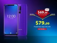Oukitel C12 Pro с экраном на 6,18 дюйма и вырезом стартует на предпродаже от $69.99