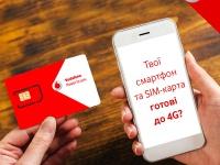 4G покрытие Vodafone появилось в Константиновке, Каменском и населенных пунктах юга и запада Украины