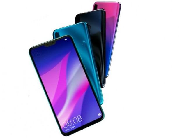 Huawei Y9 2019 с четырьмя камерами
