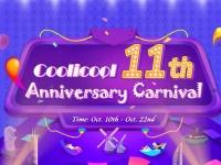 11й День Рождения у интернет магазине Coolicool.com: акции и скидки