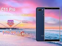OUKITEL C11 Pro с 3 ГБ ОЗУ и батареей на 3400 мАч начали продавать за $79.99