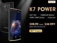 Смартфон Oukitel K7 Power стоит всего $99.99 но только на предзаказе