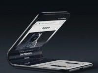 Экран революционного смартфона Samsung Galaxy F производитель окрестил Infinity-V Display