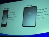 Раскрыты характеристики складного смартфона Samsung с гибким дисплеем