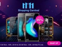 EL Mobile на распродаже 11.11 предлагает бюджетные телефоны по цене $34 и защищенные смартфоны со скидкой до 35%