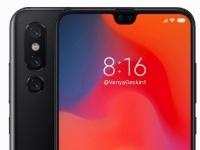 Xiaomi Mi 9 показали на новом рендере