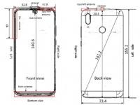 Схема и некоторые характеристики Huawei P Smart (2019) из FCC