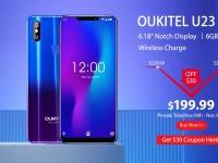 Флагманский OUKITEL U23 с 16 Мпикс. двойной камерой Samsung доступен на предпродаже за $199.99