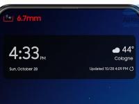 Диаметр выреза в экране смартфона Samsung Galaxy A8s составит 6,7 мм, у Galaxy S10 он будет меньшим