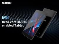 Планшет ALLDOCUBE M8 выйдет на рынок с процессором Helio X27 и поддержкой 4G LTE