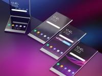 Sony патентует складной прозрачный смартфон