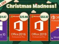 Новогоднее безумие: Windows 10 Pro за $11.47, Office 2016 за Pro $25.98 и Office 2019 за $53.32