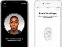Apple работает над iPhone с поддержкой Face ID и Touch ID одновременно
