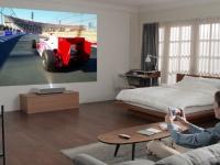 LG представит новый ультракоротфокусный лазерный 4K-проектор CINEBEAM на CES 2019