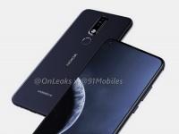 Рендеры и 3D-модель Nokia 8.1 Plus с «дыркой» в экране
