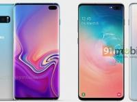 Официальные изображения флагманского смартфона Samsung Galaxy S10+ появились в сети