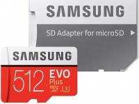 Линейку карт памяти Samsung microSD EVO Plus возглавила модель объемом 512 ГБ
