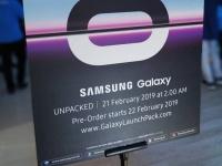 Дата старта предзаказа на Samsung Galaxy S10 и S10+ (промо-постер)