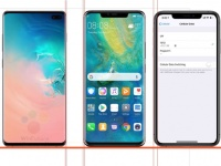 Samsung Galaxy S10+, iPhone XS Max и Huawei Mate 20 Pro: сравнение
