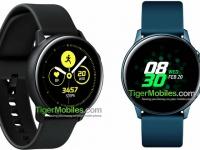 Умные часы Samsung Galaxy Watch Active получат маленький дисплей