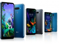 Представлены смартфоны LG Q60, K50 LG и LG K40