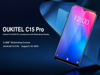 OUKITEL C15 PRO получит дисплей на 6.088 дюйма, Android 9 Pie и поддержку 5ГГц Wi-Fi