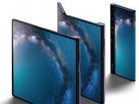 Компания Huawei представила первый 5G-смартфон со складным экраном Huawei Mate X