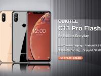 OUKITEL C13 Pro получит дисплей в стиле iPhone XS и доступен по цене $74.99