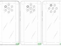 Три варианта дизайна пентакамеры Nokia 9 PureView. Один из них может появиться в новом смартфоне