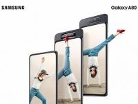 Представлен Samsung Galaxy A80 с камерой-перевертышем, Snapdragon 730 и немалой ценой