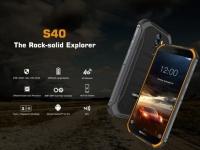 Защищённый смартфон Doogee S40 с батареей на 4650 мАч оценен в $100