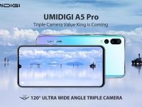 Новый смартфон со сверхширокоугольной тройной камерой стоимостью менее $150 - UMIDIGI A5 Pro