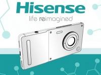 Смартфон HiSense с огромным объективом выглядит как компактный фотоаппарат