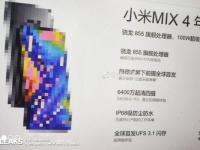 Рассекречены предварительные характеристики флагмана Xiaomi Mi Mix 4