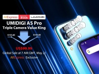 Невероятные $99,99! UMIDIGI A5 Pro с широкоугольной тройной камерой готов к Глобальной распродаже