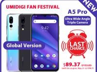 Смартфон UMIDIGI A5 Pro с тройной камерой — только сегодня по цене $89