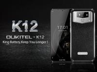 Oukitel K12 с 10000 мАч держит заряд 31 день в режиме ожидания