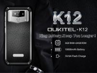 OUKITEL K12 доступен со скидкой $239.99: 6 ГБ ОЗУ и батарея на 10000 мАч