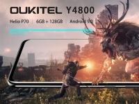 Смартфон Oukitel Y4800 с чипсетом Helio P70 прогнали в Antutu и сравнили по скорости с Redmi Note 7