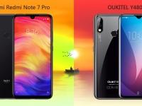 Oukitel Y4800 или Xiaomi Redmi Note 7 Pro? Разбираемся какой смартфон выгоднее и интереснее