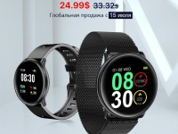 Компания UMIDIGI анонсировала новые часы с сенсорным цветным дисплеем и IP67