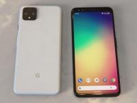 Google Pixel 4 в черном и белом цветах впервые на живом фото