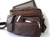 SMARTlife: Выбираем мужскую сумку из кожи – классика под ноутбук или вариант сумки через плечо для планшета?!