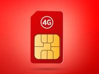 За полгода Vodafone увеличил покрытие 4G сети почти в 4 раза