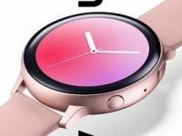 Как выглядят часы Samsung Galaxy Watch Active 2