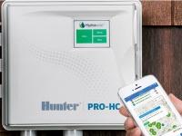 Полив газона со смартфона с помощью контроллера Hunter PHC-601e – удобно и надежно