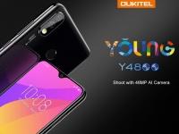 Предпродажа OUKITEL Y4800 с 48 Мпикс. камерой и чипсетом Helio P70 стартует 22 июля за $199,99