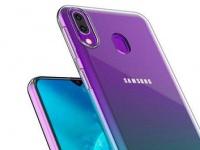 Первые изображения Samsung Galaxy M30s демонстрируют V-образный вырез для фронтальной камеры и различные цвета