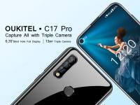 OUKITEL C17 Pro – смартфон с тройной камерой скоро в продаже за $139,99