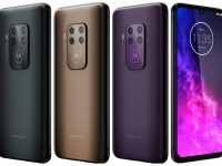 Motorola One Zoom в трех цветах на официальных изображениях